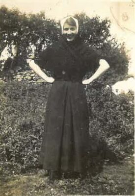 Marcella Gannon (dressed as a Nun)