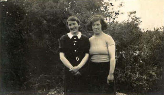 Marcella & Kathleen Gannon 1940's