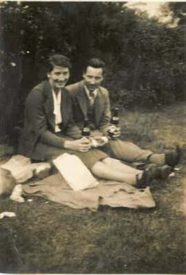 Marcella Gannon & Paddy Kinneavy  (late 1930's/early 40's)