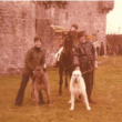 Photos from the filming of Tristan and Isolde at AughnanureCastle