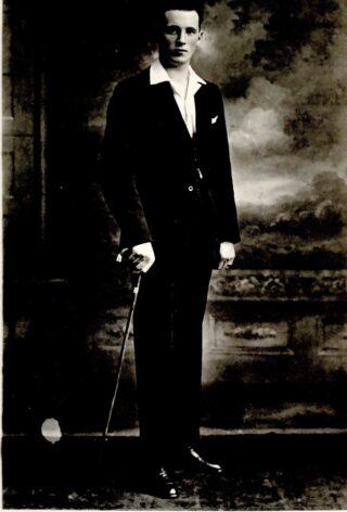 Jack McDonagh as a young man