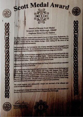Scott Medal Award details