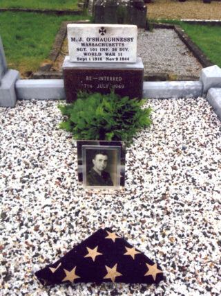 Words in Remembrance of Sergeant MichaelO'Shaughnessy