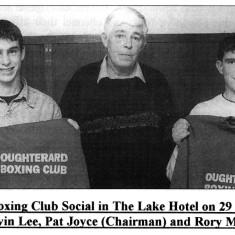 Oughterard Boxing Club Photographs