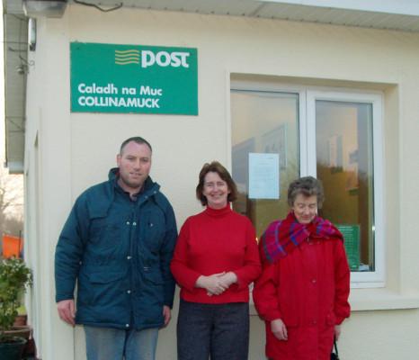 Declan Connolly, Mary Melia and Delia Walsh