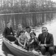 Boating off Inchagoill