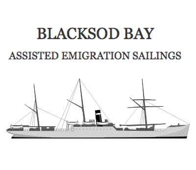 Blacksod Bay Assisted Emigration Of 1800'S