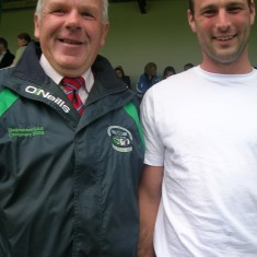 Fine men you are. Paddy Geoghegan and John MC Gauley