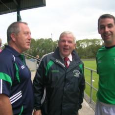 John Gillespie, Paddy Geoghegan advising Liam Tierney