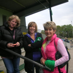 Mothers are the back bone of the team. Breda Coady, Ann Mc Quinn and Patricia Kavanagh