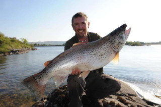 Monster Trout on Lough Corrib