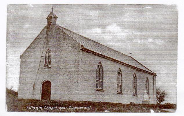 Old Killanin Parish Church