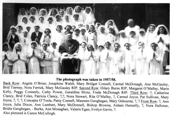 Holy Communion 1957/1958