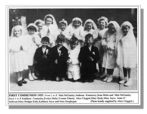 First holy Communion Photograph 1955