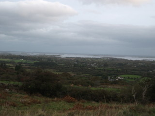 Commanding view over Lough Corrib from Knockacarna