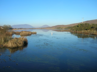View from Leam Bridge