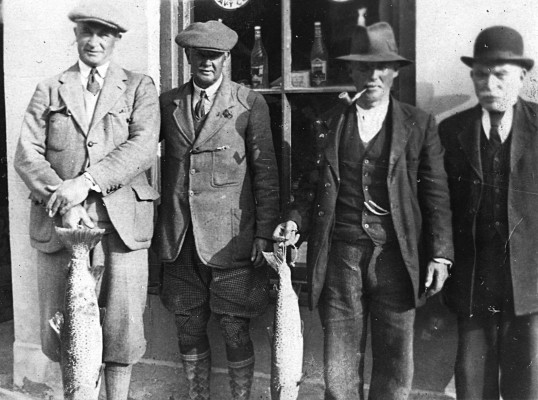 Outside The Anglers Hotel C.1920