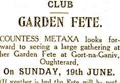 Golf Club June 12th 1927 - Tribune