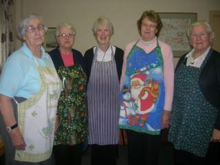 Bridie Lydon, Aine Breathnach, Margaret Goggin, Joan Geoghegan