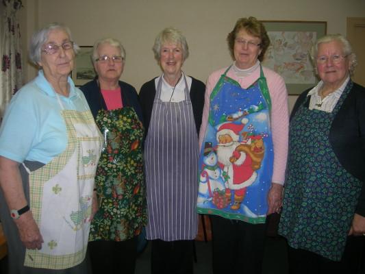 Bridie Lydon, Aine Breathnach, Margaret Goggin, Joan Geoghegan, Lily Cloherty