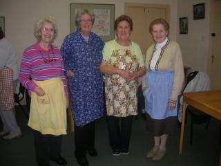Eileen Lydon, Mary Kyne, Helen Mc Quinn, Betty Gibbons