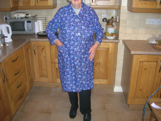 Mag Faherty's coat apron