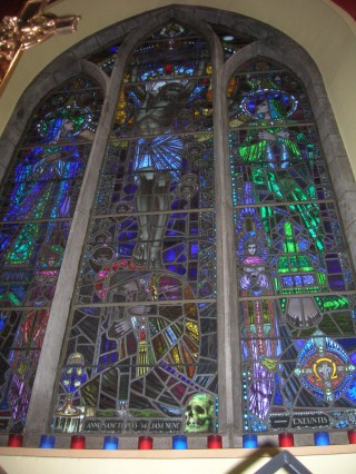 Harry Clarke stained glass, Oughterard