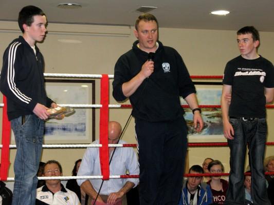 Oughterard Boxing Club makes history