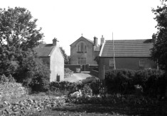 The Convent School before the Apartments