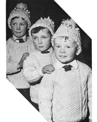 Henry, Padraic, and Conrad Keogh