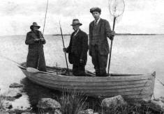 Fishing on The Corrib C.1931