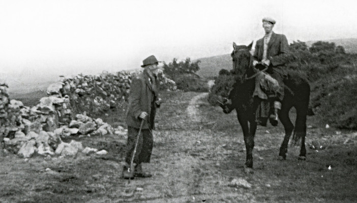 The Old Oughterard to Clifden Road 1956   Oughterard Heritage