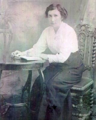 Mary Mons of Glann (daughter of James & Honor Mons & teacher)