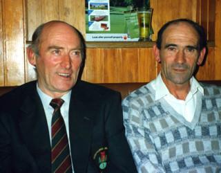 Tom with Frank Kyne