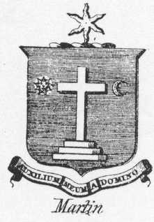 The Martin coat of arms.