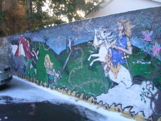 Mural of the
