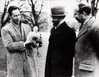 Noel Stevens,Halie Selassie the Emperor of Ethiopia and Ronald Stevens