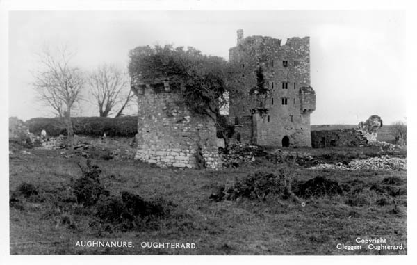 O'Flaherty castle at Aughnanure