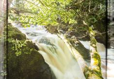 Oughterard Waterfall