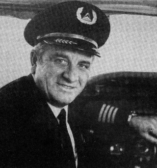Russel as Delta Airline Captain