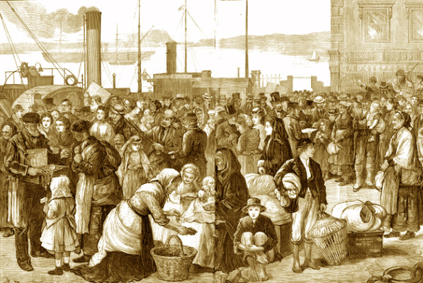 State Aided Emigration from Ireland to Canada in the 1880s