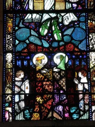Harry Clarke stained glass, Honan Chapel, Cork
