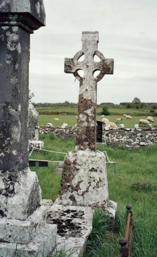 Rev. Patrick Coyne, Killannin - 1874 - 1899. Straid cemetery, Templetogher