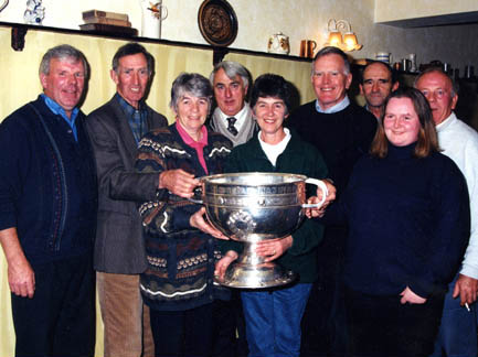 Paddy Geoghegan, Stephen Tierney, Mary Tierney, Frank O'Halloran, Peggy Tierney, Paddy Tierney, Frank Kyne, Pat Rattigan