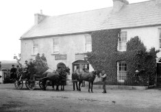 19TH Century Coach Travel - Bianconi- Galway-Oughterard-Clifden